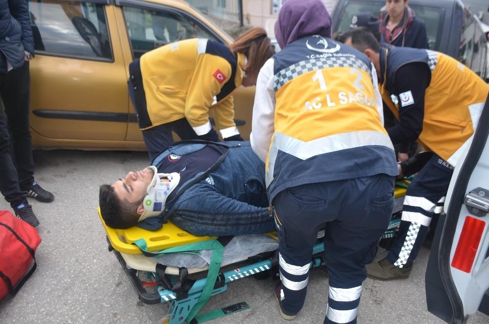 Bilecik'te motosiklet kazası: 1 yaralı