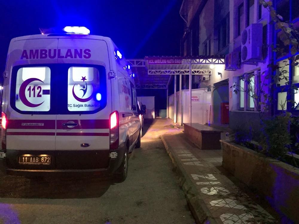 Bilecik'te trafik kazası: 2 kişi yaralandı