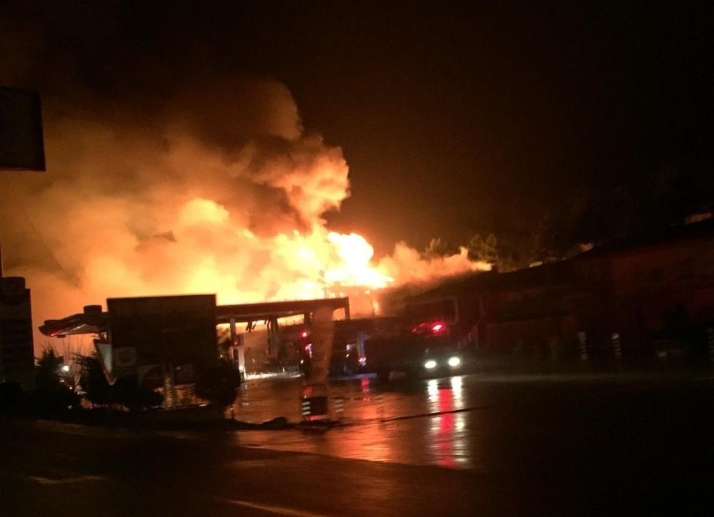 Bilecik'teki büyük yangın sonrası ilk açıklama geldi