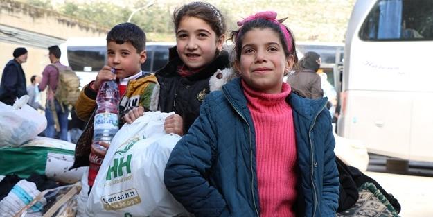Bin 55 sivil tahliye edildi