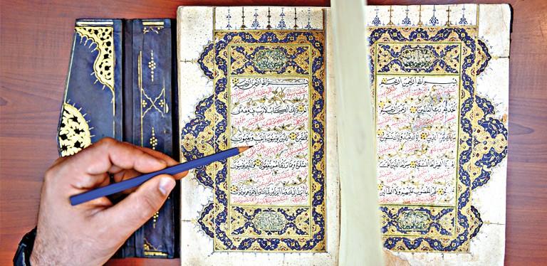 Bin yıllık Kur'an korumada
