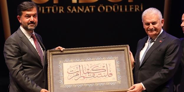 Binali Yıldırım, ÖNDER Kültür Ödül Töreni'nde konuştu: Zincirleri kırdık, prangaları söktük