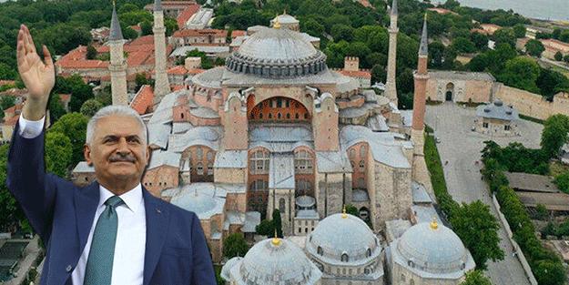 Binali Yıldırım'dan önemli Ayasofya mesajı! 'Buraya gelen Ortodoks dünyası…'