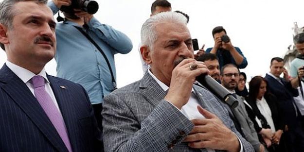 """Binali Yıldırım'dan seçim öncesi açıklama! """"İstanbul'u hırsızlar yönetemez"""""""