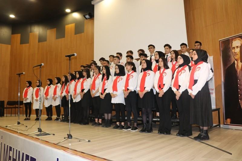 Bingöl'de İstiklal Marşı'nın kabulünün 99. yılı kutlandı