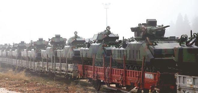 Binlerce zırhlı araç hazır! Operasyonun başlaması an meselesi