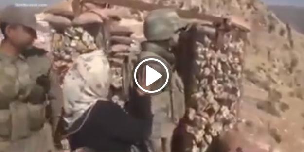 Bir asker anasının evladına kavuşma anı!