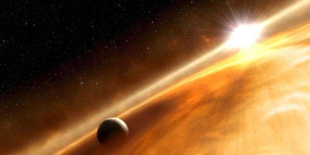 Bir gezegenin oluşum izleri gözlemlendi