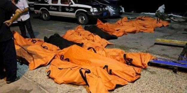 Bir göçmen faciası daha: 200 ölü var