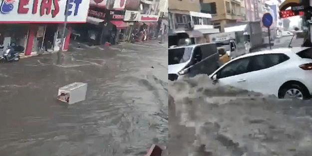 Bir kentimizde hayat felç oldu! Yollar göle döndü