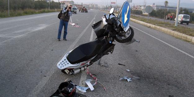 Bir motosikletli daha can verdi!
