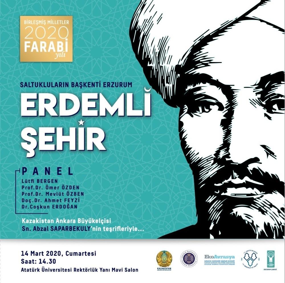 Birleşmiş Milletler 2020 Farabi Yılı'nın açılış programı Erzurum'da yapılacak