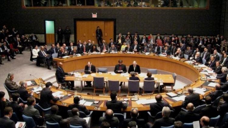 Birleşmiş Milletler, Filistin için bir araya geldi
