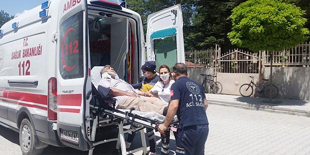Bisiklet sürücüsünü yaralayıp kaçtı