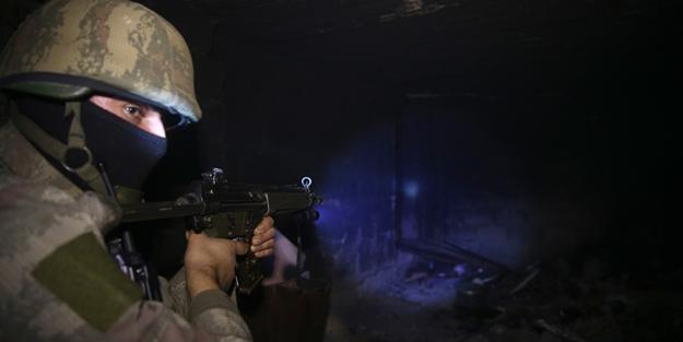 Bitlis'te terör örgütü PKK'ya top atışı