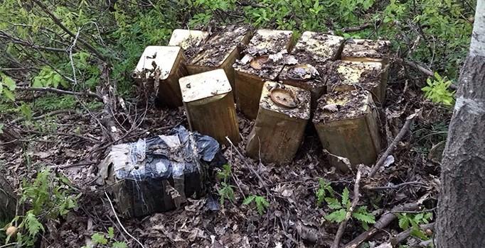 Bitlis'te teröristlerin tuzakladığı 560 kilogramlık patlayıcı imha edildi