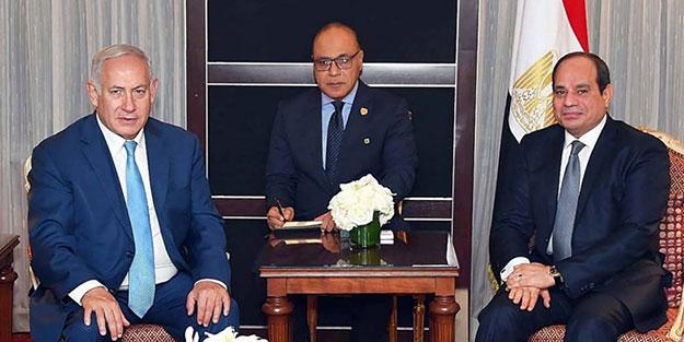 Bizzat Sisi açıkladı: İsrail ile operasyon yaptık!
