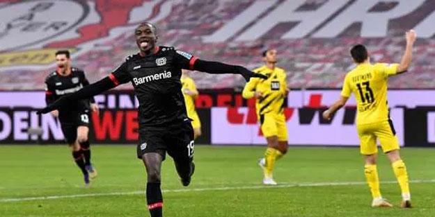 B.Leverkusen Dortmund'a diz çöktürdü