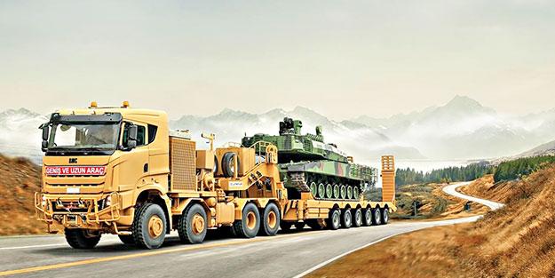 """BMC'den Avrupa'ya 120 tonluk """"dev"""" adım"""