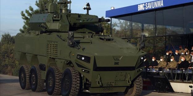 BMC'nin yeni 8×8 zırhlı muharebe aracı görücüye çıktı