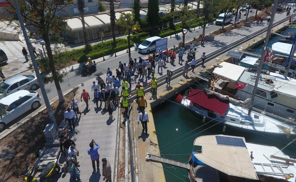 Bodrum Limanı 15 Haziran'da hizmete giriyor