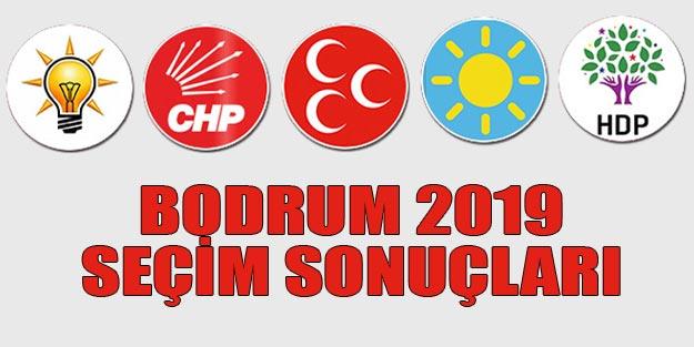 Bodrum seçim sonuçları 2019 | Muğla Bodrum 31 Mart seçim sonuçları oy oranları