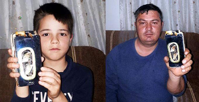 Bodrum'da bomba gibi patlayan cep telefonu evi yakıyordu