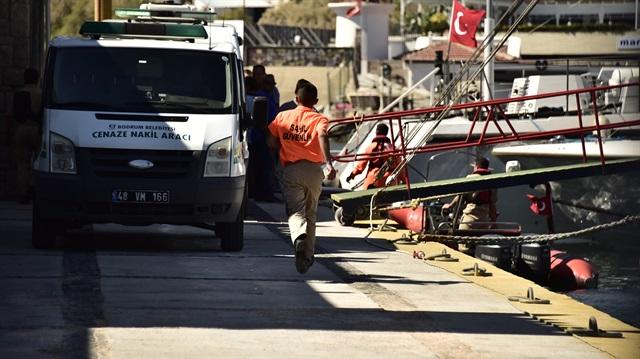 Bodrum'da bot battı: 4 kişi öldü