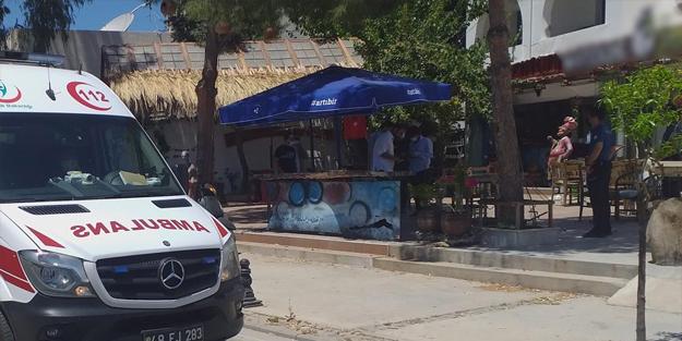 Bodrum'da silahlı saldırı: Yaralılar var