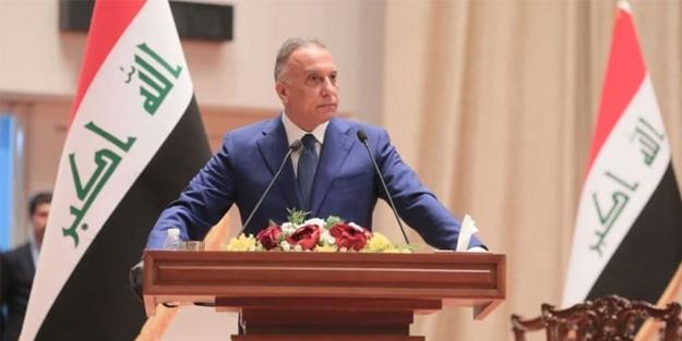 Bölgede büyük gerilim! Öfkeli kalabalık Başbakan el-Kazımi'nin konvoyunu taşa tuttu