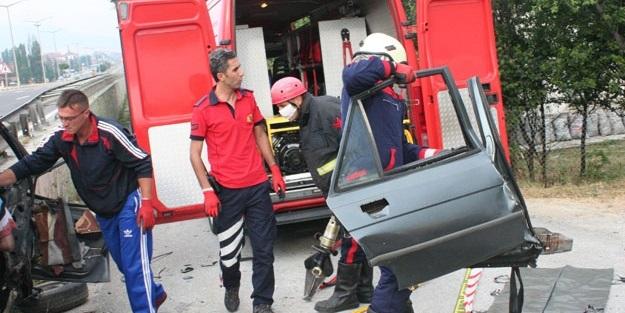 Bolu'da acı kaza: 2 ölü, 4 yaralı