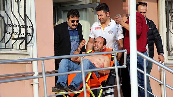 Bolu'da bıçakladığı arkadaşını sağlık ocağına götürüp serumunu taşıdı