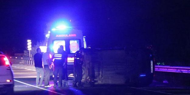 Bolu'da iki araç çarpıştı: 3 yaralı