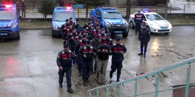Bolu'da kaçak kazı operasyonu! 6 gözaltı