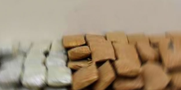 Bolu'da kilolarca eroin ele geçirildi!