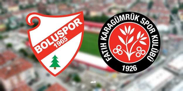 Boluspor Fatih Karagümrük maçı ne zaman, saat kaçta, hangi kanalda?