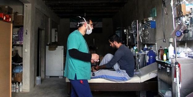 Bombalar yüzünden yeraltı hastanesi yaptılar