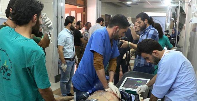 Bombardımanların hedefindeki Halep'te hastaneler yaralılarla doldu taştı