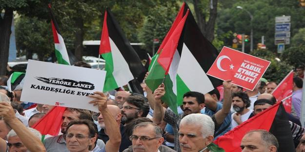 """""""BOP'a, teröre, darbelere, İsrail'le yapılan anlaşmaya hayır"""""""