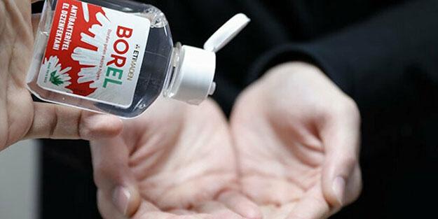 BOREL'e yurt dışından yoğun talep! Borlu dezenfektan BOREL Avrupa yolcusu
