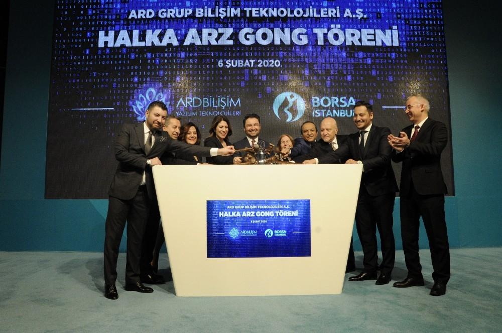 Borsa İstanbul'da gong ARD Bilişim için çaldı