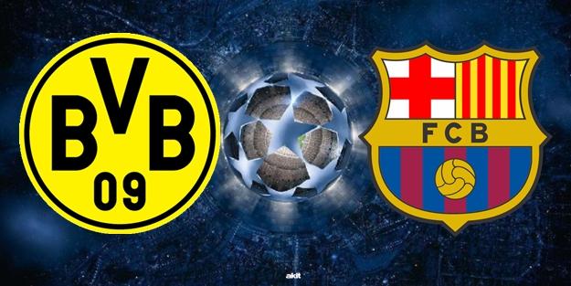 Dortmund Barcelona Şampiyonlar Ligi maçı saat kaçta hangi kanalda?