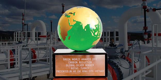 BOTAŞ'a Yeşil Dünya Ödülü
