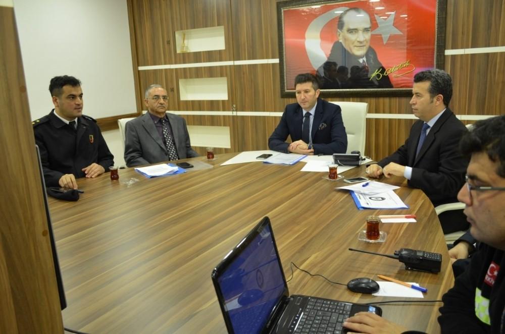 Bozyazı'da otobüs kazalarının önlenmesine yönelik toplantı