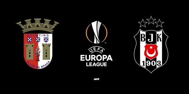 Braga Beşiktaş maçı ne zaman? Braga Beşiktaş saat kaçta, hangi kanalda?