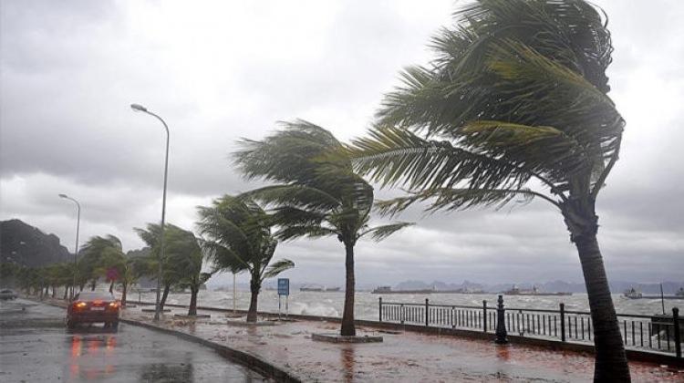Brezilya'da şiddetli fırtına!