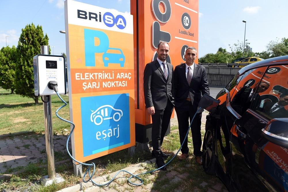 Brisa, Antalya'da yüksek hızlı Eşarj istasyonu açtı