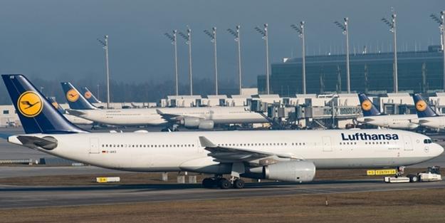 Lufthansa'dan kritik karar! Uçuşları askıya aldı