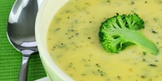 Brokoli çorbası nasıl yapılır? Brokoli çorbası tarifi malzemeleri