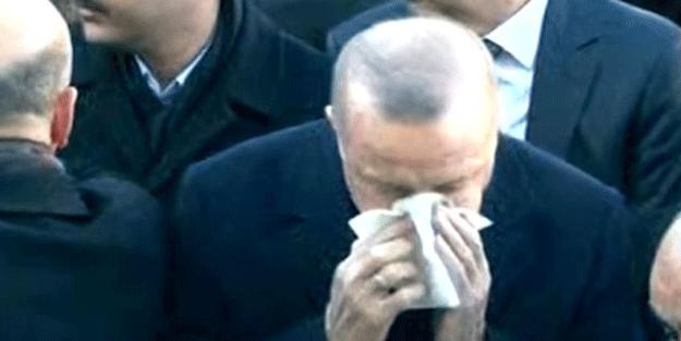 Bu acının tarifi yok! Cumhurbaşkanı Erdoğan gözyaşlarını tutamadı